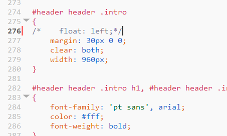 CSS highlighting