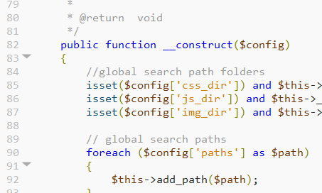 PHP highlighting